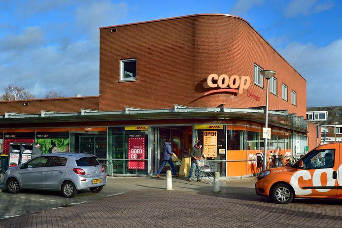 Dieven hebben donderdagmorgen de inhoud gestolen van een geldautomaat in de Coop-supermarkt aan de Vuurdoornlaan in Gouda.