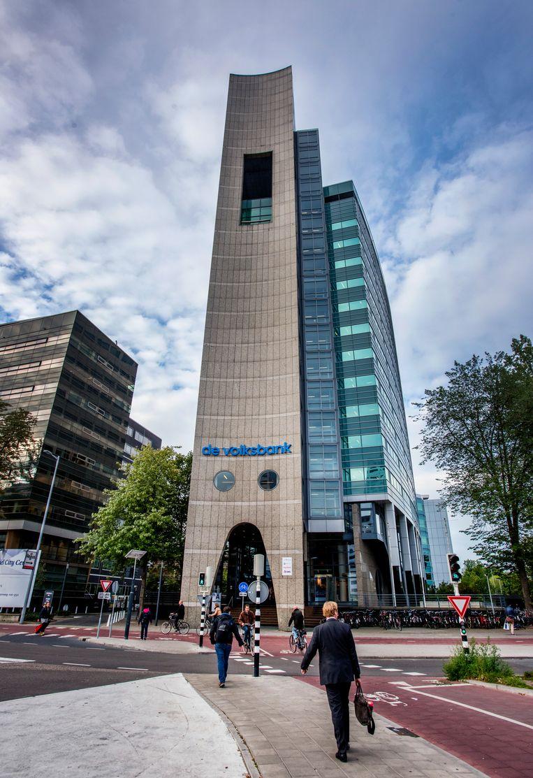 De Volksbank op het Jaarbeursplein in Utrecht.  Beeld Raymond Rutting