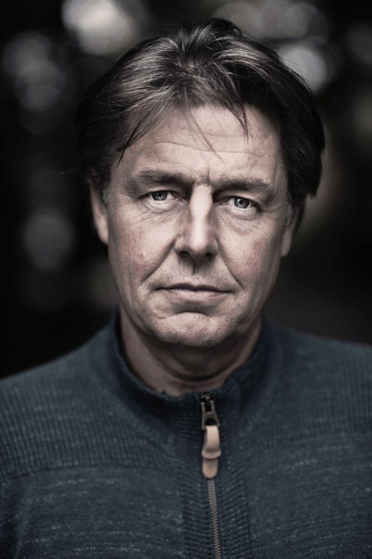 Guillaume Van der Stighelen is auteur en columnist. Beeld Karoly Effenberger