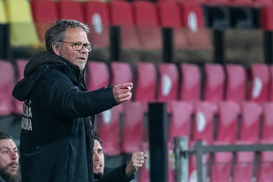 Cambuur-trainer Henk de Jong