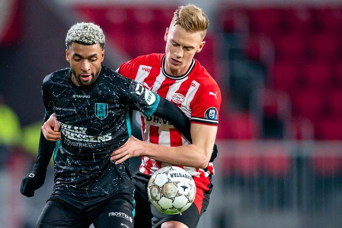 Timo Baumgartl maakte tegen RKC voor de derde keer in een week de negentig minuten vol voor PSV.