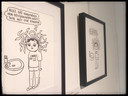 Enkele van de tentoongestelde werken van 'Memory for Life'. Hier de werken van Chrostin.