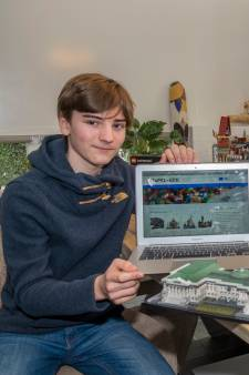 'Stapel-Gekke' Floris (14) verhuurt Lego via eigen gebouwde website