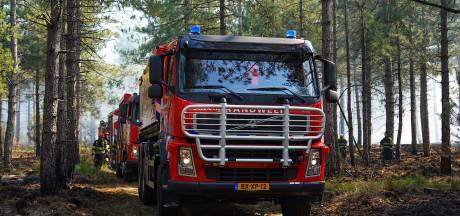 Verhoogd risico op natuurbrand: brandweer in Achterhoek op scherp