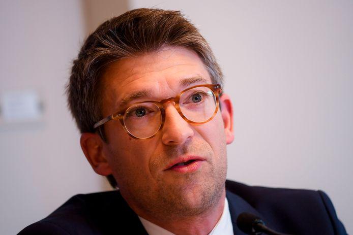 Le ministre wallon des Pouvoirs locaux, Pierre-Yves Dermagne (PS).