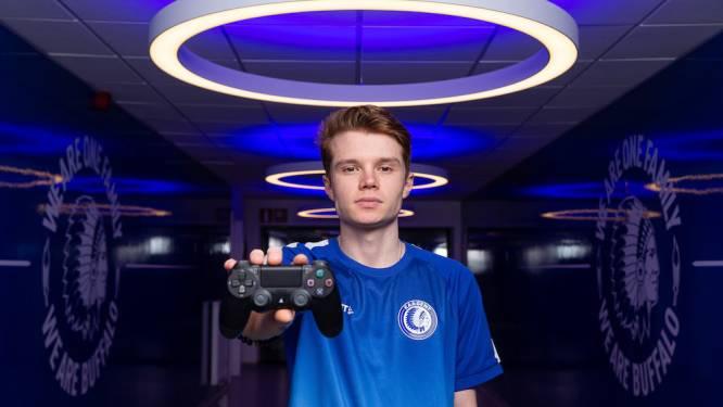 """Nicolas (22) is eSporter van de Buffalo's: """"KAA Gent is een erg ambitieuze club"""""""