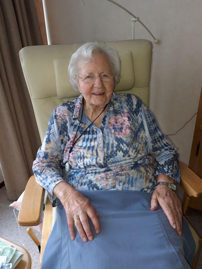 Jetske Meijer-Faber is 100 jaar oud geworden.
