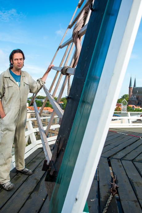 Molenaar Willem Roose is de optimist in Radio Een Vandaag