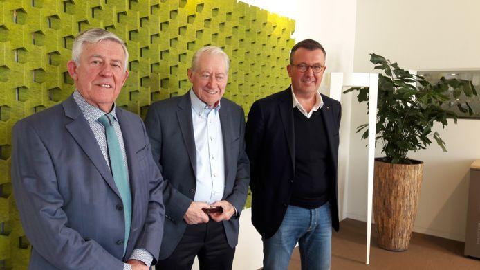 Van links naar rechts: Peter, Sjef en Goyke van Lier.