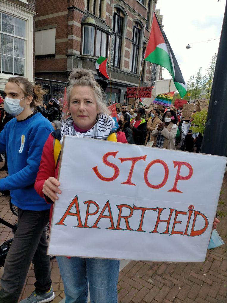 Betoger Annelien van Beem. Beeld Trouw