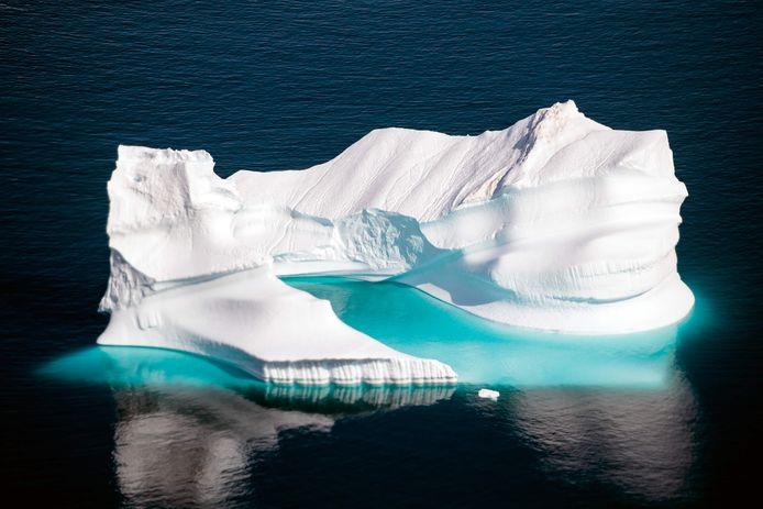 Iceberg vicino alla Groenlandia.