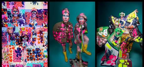 Geen Canal Parade, wel vrolijk 'liefdesgevecht' van Aaltense modeontwerper