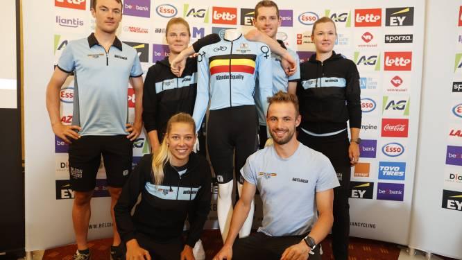 Belgisch mixed relay-team rijdt woensdag met aangepast shirt op WK
