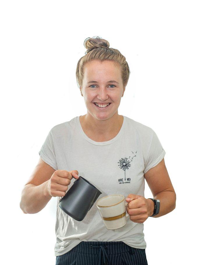 Laura Smulders is verzot op (goede) koffie.