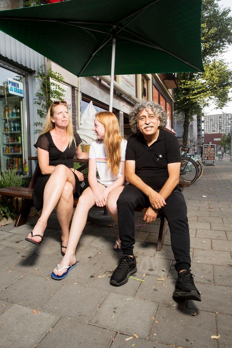 Abi: 'Ik geloof dat het alleen werkt als we één cultuur omarmen: de Amsterdamse' Beeld Niels Blekemolen