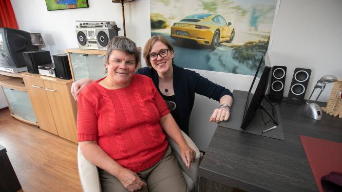 Anja en haar mentor Saskia uit Heesch: een fijn stel