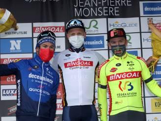 "Timothy Dupont derde in GP Jempi Monseré: ""Had de benen om iets beter te finishen"""