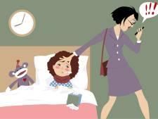 Kind ziek: kun je gelijk naar huis en welk verlof neem je op?