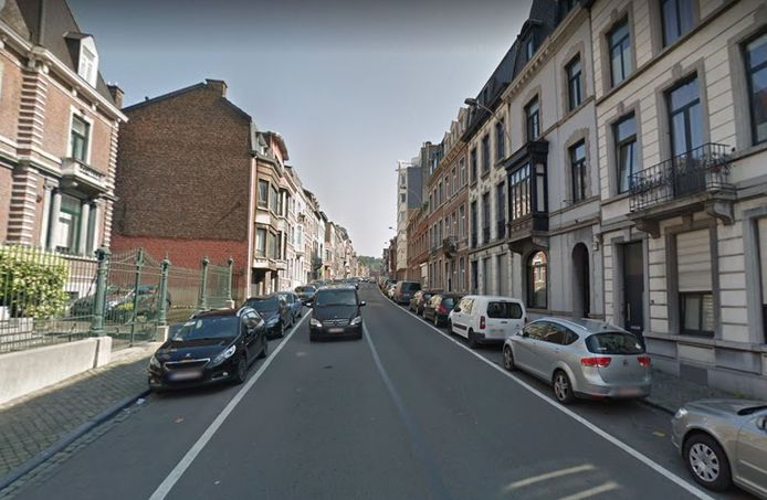 Rue de Campine, à Liège.