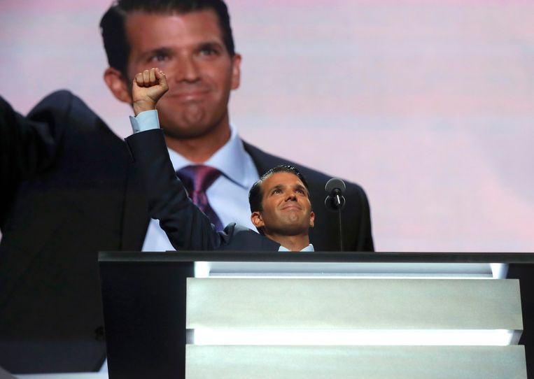 Donald Trump junior. Beeld REUTERS