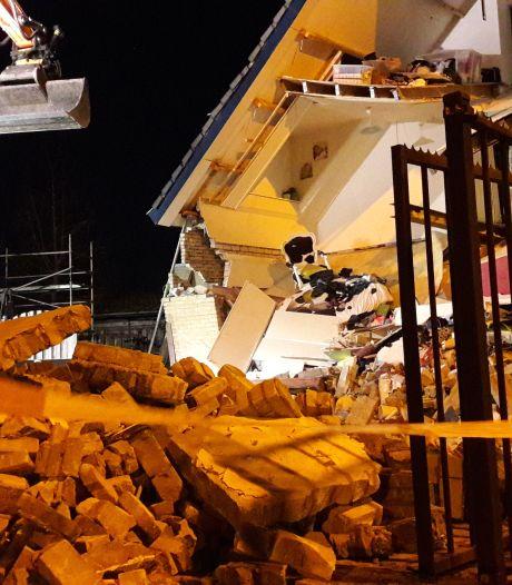 Huis stort deels in na rioleringswerkzaamheden in Made