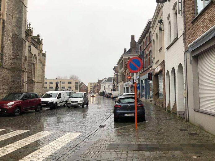 De Sint-Medardusstraat is voortaan ook blauwe zone
