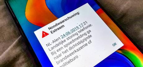 Enorme blunder ministerie: 06-nummer Telegraaf als noodnummer verstuurd via NL-Alert