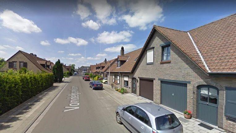 De overval vond plaats in de Vondelparklaan in Sint-Gillis-Bij-Dendermonde.