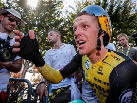 IJzersterke Kruijswijk nu in top-3: 'Het wordt nog een spannende Tour'