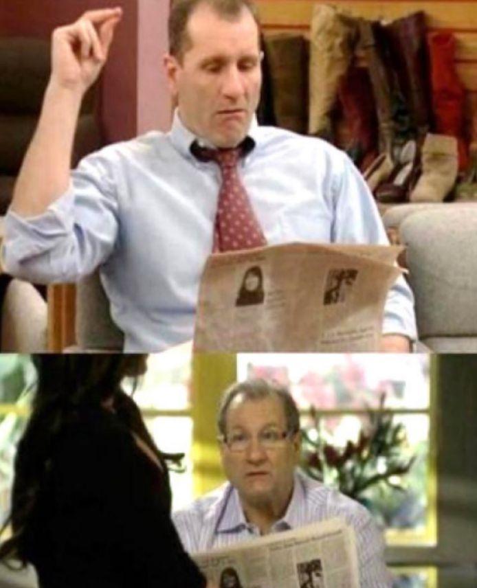 Ed leest al 30 jaar dezelfde krant.