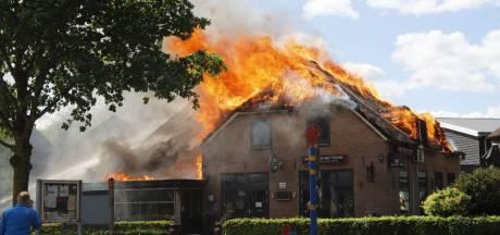 Vertraging in wederopbouw dorpshart Lierderholthuis na cafébrand: 'Misschien te vroeg om te schreeuwen'