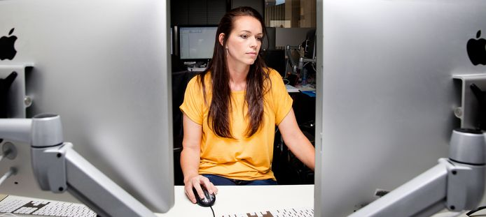 Lesley Lindner van het Team Bestrijding Kinderporno en Sekstoerisme.