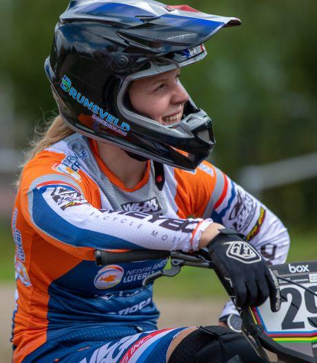 Gifbeker nog niet leeg voor Hierdense BMX'ster Ruby Huisman, sleutelbeen blijkt gebroken
