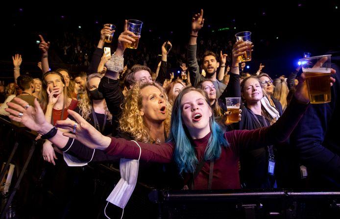 Un concert à Amsterdam.