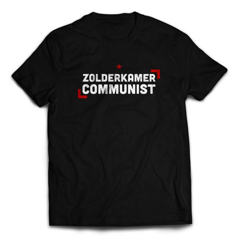 T-shirt uit  de webwinkel De Rode Lap. Beeld pack shot