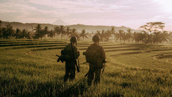 Scene uit 'De Oost.'