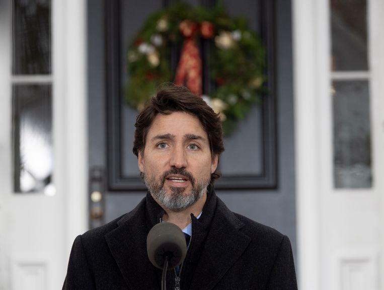 Premier Justin Trudeau. Beeld AP