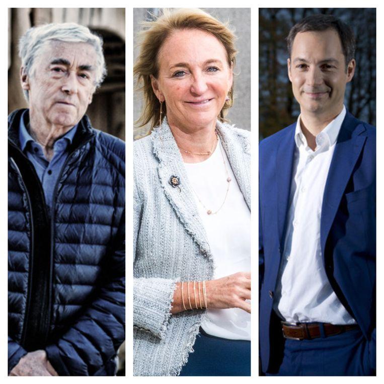 In debat met CEO Michèle Sioen, minister Alexander De Croo en professor Paul De Grauwe Beeld DM