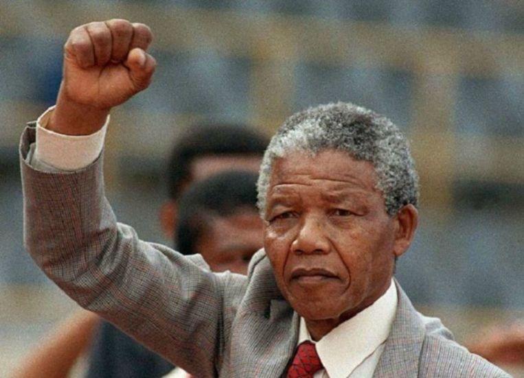 Ook Nelson Mandela verwees naar de Magna Carta Beeld afp