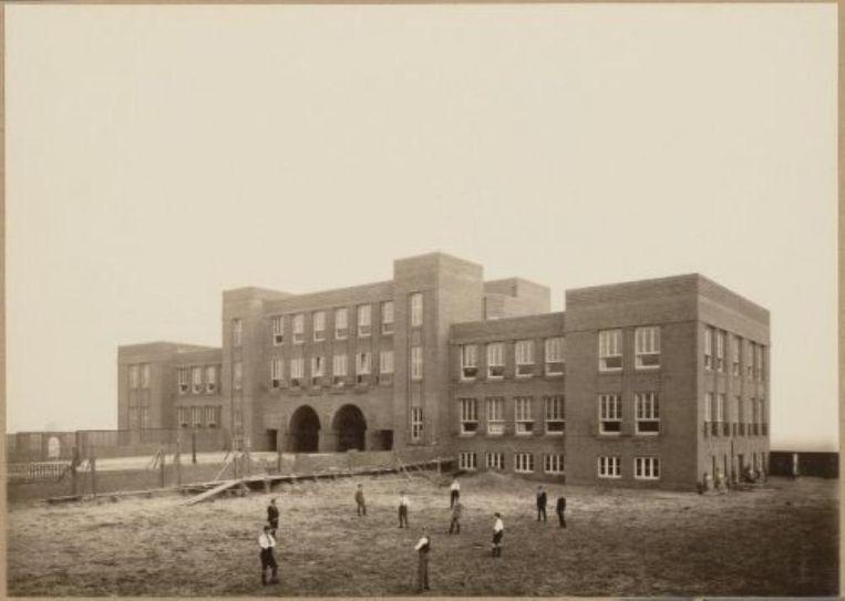 Het Amsterdams Lyceum in 1920 Beeld Eilers, Bernard F. via Beeldbank Stadsarchief