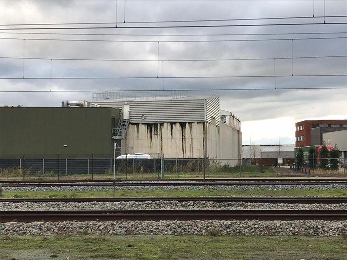 Omwonenden maakten deze foto van de lekkage van afvalwater bij Vion in Boxtel.