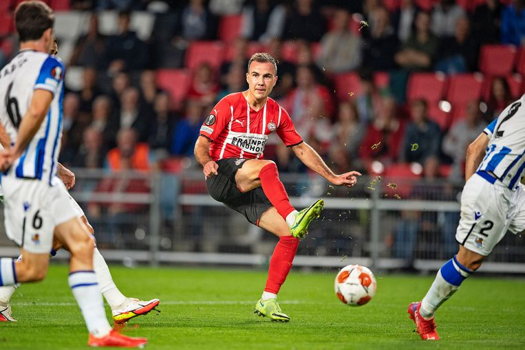 Mario Götze is an improved version of himself at PSV