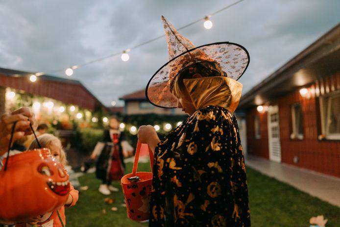 Foto van Halloween ter illustratie.