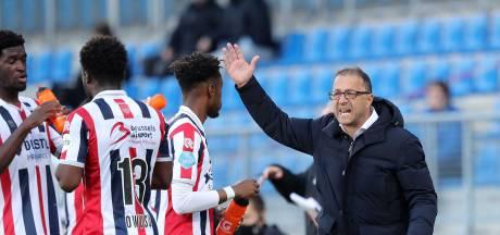 Willem II-trainer Petrovic mist wedstrijd tegen Utrecht vanwege acute hernia