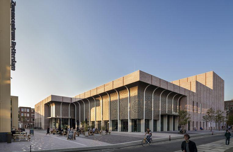 Theater Zuidplein, Rotterdam Architect: De Zwarte Hond Opdrachtgever: Hart van Zuid (Ballast Nedam/Heijmans) Beeld Scagliola Brakkee
