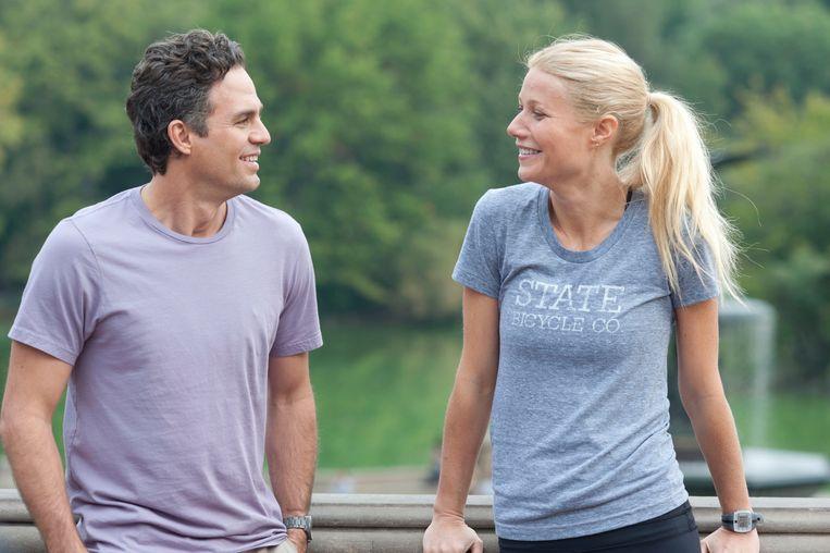 Thanks for Sharing FILM (USA-2012) Stuart Blumberg caption: Mark Ruffalo (Adam) - Gwyneth Paltrow (Phoebe) Beeld INTERNET