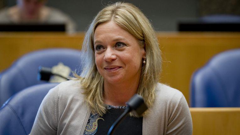 Kamerlid Jeanine Hennis van de VVD. Beeld anp