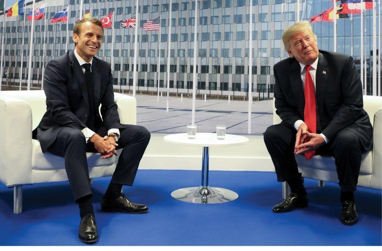 'De NAVO-top in Brussel was het hoogtepunt van 2018. Drie complexe dagen waarop absoluut niks fout mocht gaan.' Beeld BelgaImage
