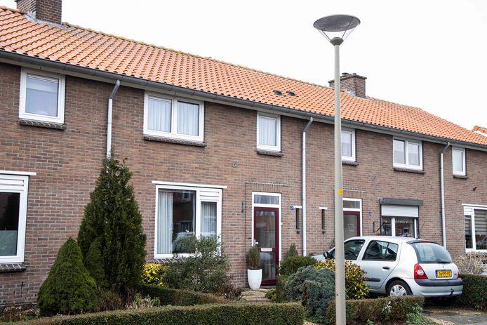 De tussenwoning in de Dr. Kochstraat in Ooij: duizend mensen hebben gereageerd op de loterij.