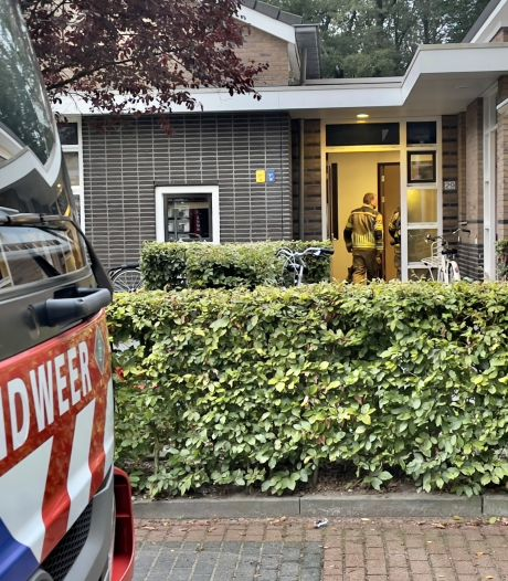 Brand in een woning op De Losserhof